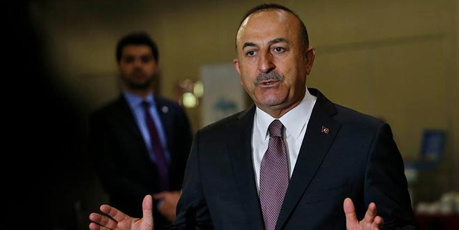 Çavuşoğlu'dan YPG mesajı