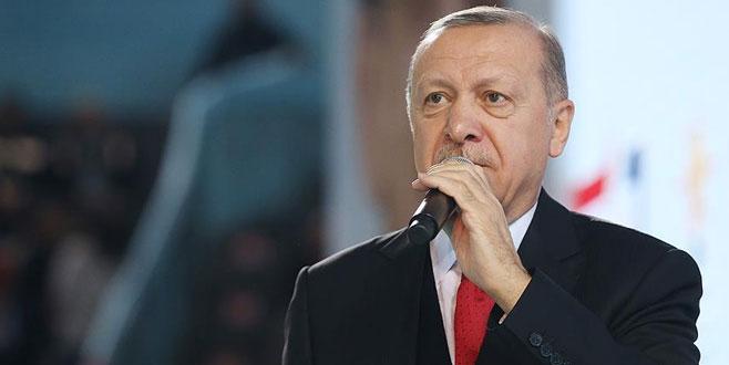 Cumhurbaşkanı Erdoğan: Kafalarına kafalarına indik