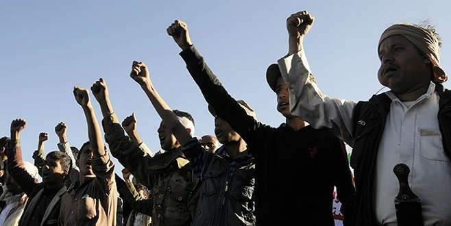 Yemen'de Suudi Arabistan protestosu