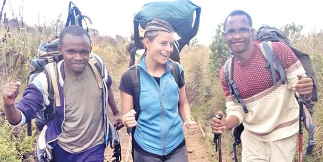 Kilimanjaro Dağı'na tırmandı