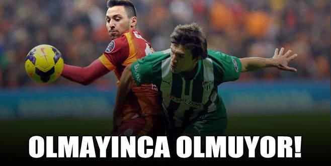 Timsah Galatasaray'ı elinden kaçırdı