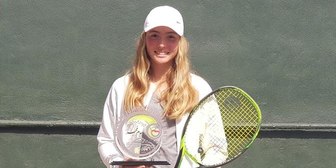 Bursalı tenisçiden önemli başarı