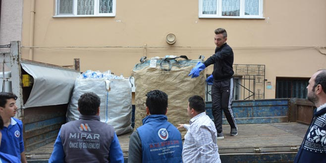 Bursa'da taktir toplayan hareket