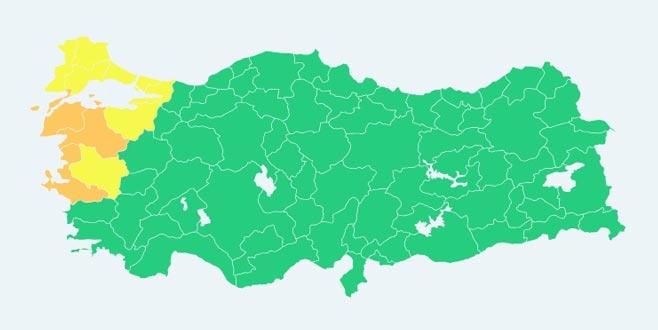 Renk kodlu ilk meteorolojik uyarı yapıldı! Bursa'da...