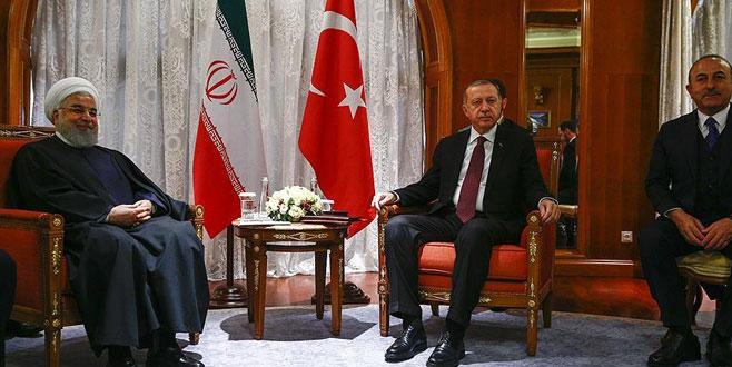 Erdoğan ve Ruhani Soçi'de görüştü