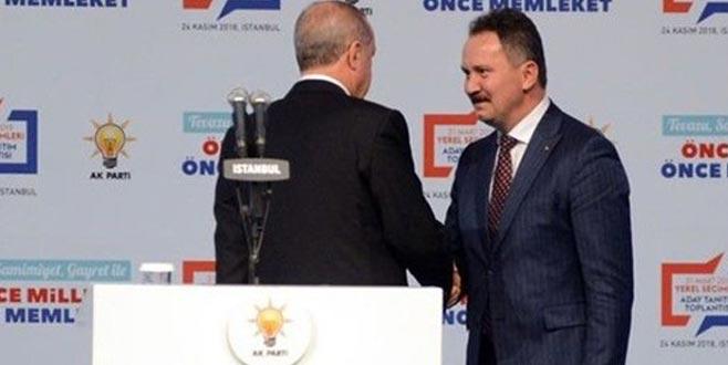 CHP sloganının sitesini AK Partili aday aldı