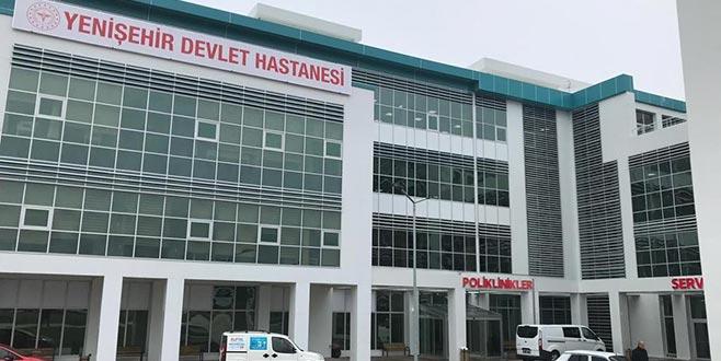 Yenişehir Devlet Hastanesi yeni binasında