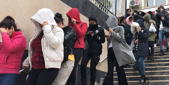 Fuhuş tuzağı! 20 şüpheli tutuklandı