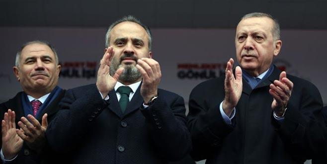 Bursa'ya 'Erdoğan' dopingi