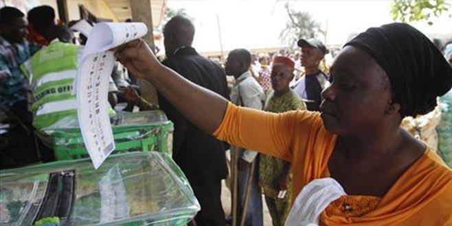 Seçim günü seçimler iptal