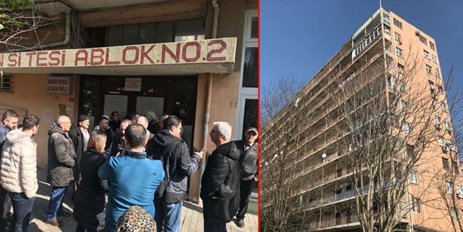 11 katlı apartman için tahliye kararı