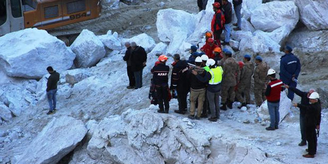 Muğla'daki madendeki göçükten acı haber