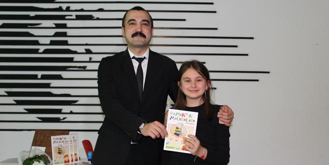 11 yaşında kitap yazdı, gelirini lösemili çocuklara bağışladı