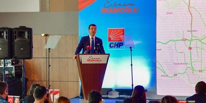 İmamoğlu'ndan İstanbul'a yeni ulaşım projesi