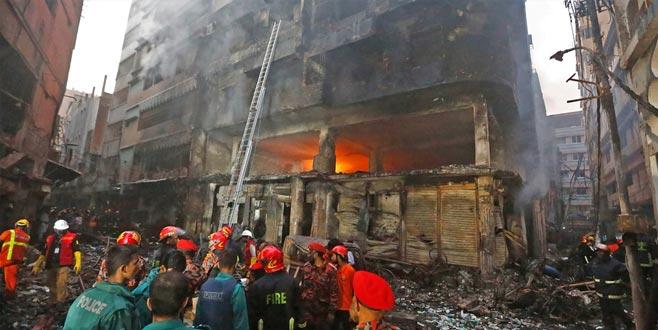 Tarihi bölgede yangın: 69 ölü