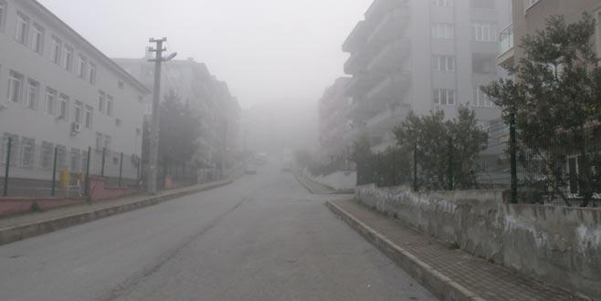 Mudanya'da yoğun sis