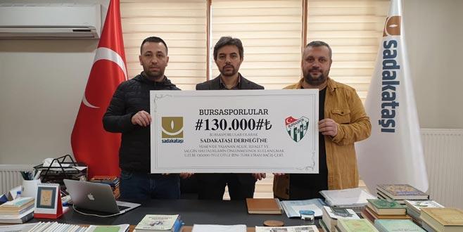 Bursaspor taraftarlarından Yemen'e yardım