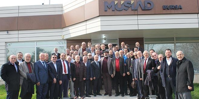 MÜSİAD eski başkanları Bursa'da buluştu