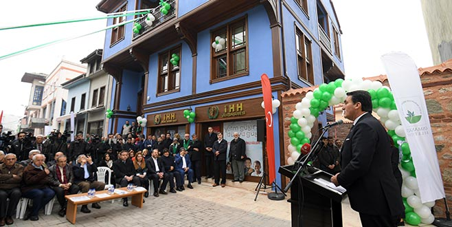 Tarihi Mirasa Osmangazi imzası