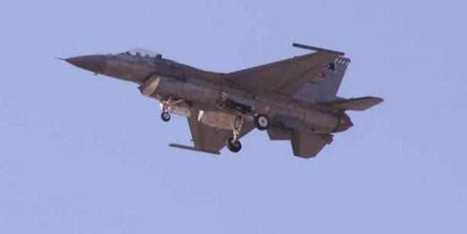 Suriye uçağı F-16'mızı taciz etti