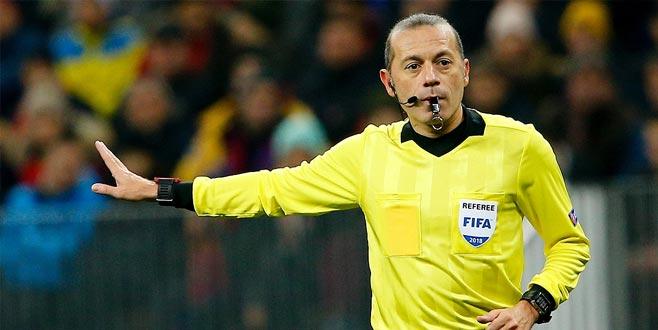 Porto-Roma maçı Cüneyt Çakır'ın