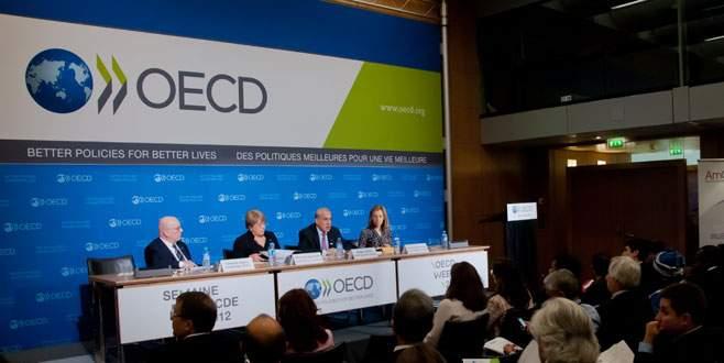 OECD'nin faiz lideri Türkiye