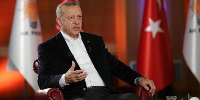 Cumhurbaşkanı Erdoğan: Hiçbir siyasi partiye oy verene 'terörist' demedim
