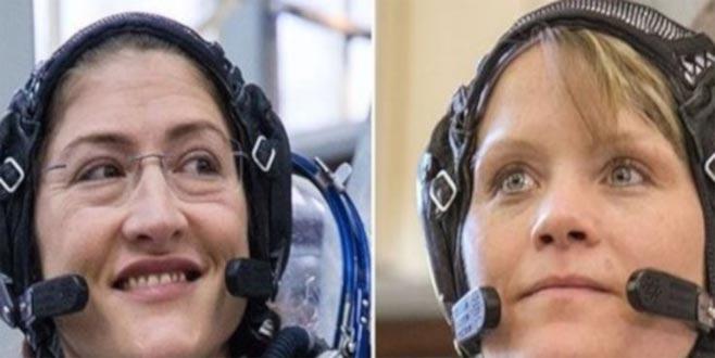 Kadın astronotlar uzayda yürüyecek
