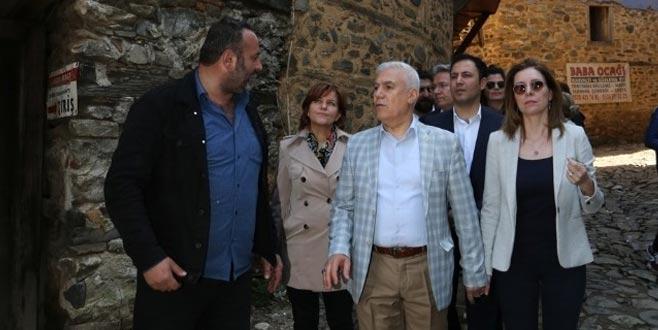 Bozbey: Cumalıkızık ve çevresi turizmden hak ettiği payı alacak
