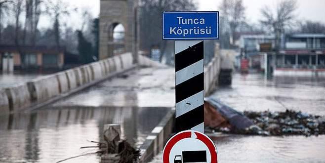 Meriç ve Tunca nehirlerinde debi düşüyor