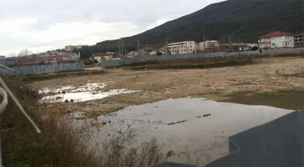 Borusan Ortaokulu inşaatı durdu