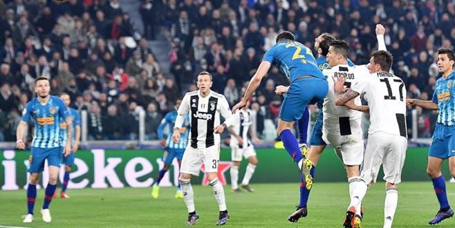 Juventus ve Manchester City çeyrek finalde