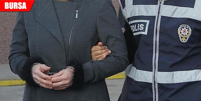 Yağma suçundan aranan kadın tutuklandı