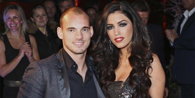 Korkutan iddia: Sneijder Yolanthe'ye şiddet uyguladı