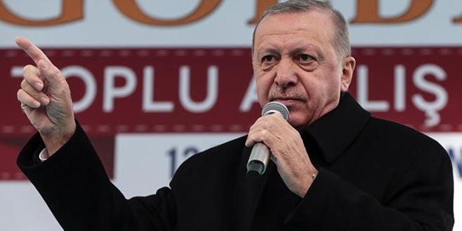 Cumhurbaşkanı Erdoğan'dan 'Kanal Ankara' mesajı