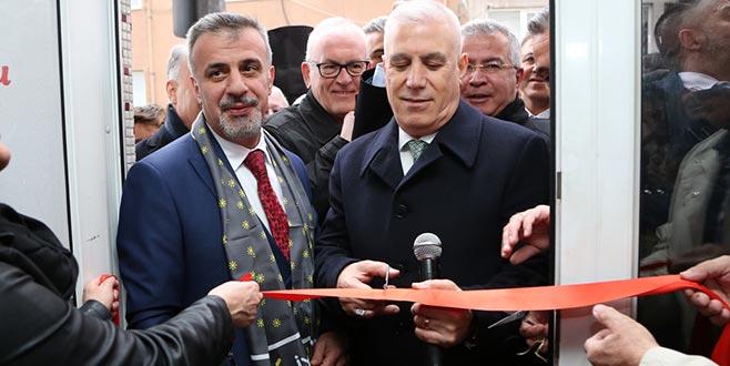 Bozbey Namazgah'ta seçim bürosu açtı