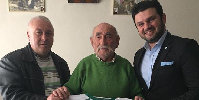 Bursaspor'un ilk amigosuna sürpriz ziyaret!