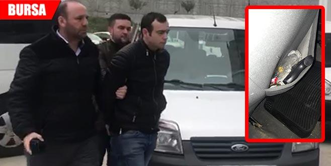 Oyuncak silahlı soyguncu tutuklandı