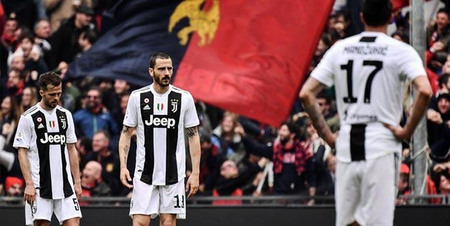 Ronaldo'suz Juventus ligde ilk kez mağlup