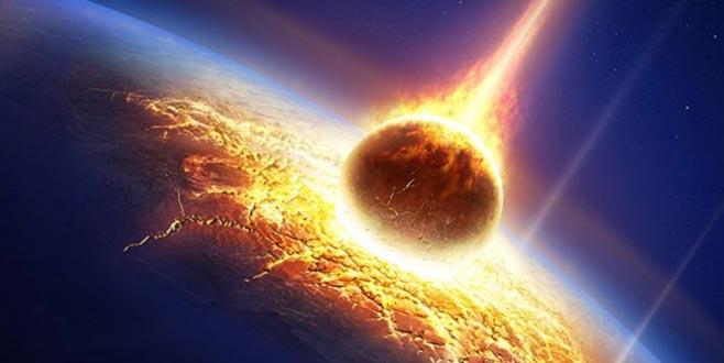 NASA atmosferde dev meteor patlaması belirledi!