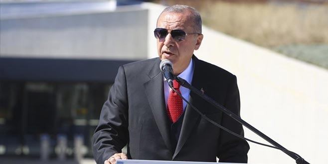 Erdoğan: Troya Müzesi Çanakkale'yi tarihiyle yeniden buluşturma projesidir