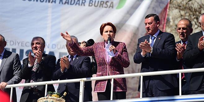 Bursa'da Akşener rüzgarı