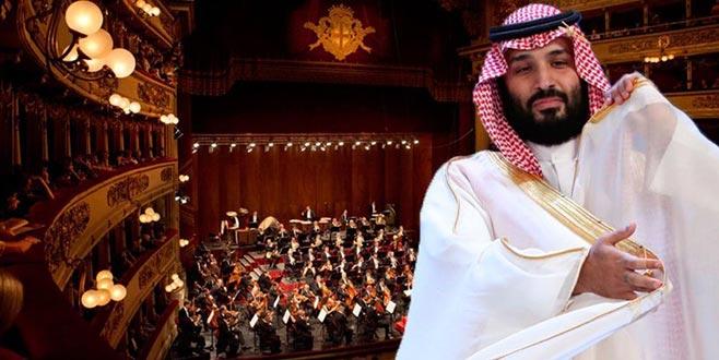 La Scala Suudiparasını reddetti