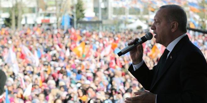 Erdoğan: Ankara'yı sahte imzalarla senet imzalayanlara teslim edemeyiz