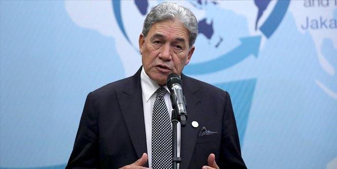 Yeni Zelanda Dışişleri Bakanı'ndan terörist hakkında kritik açıklama