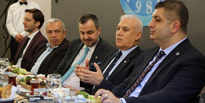Bozbey: 'Projelere Bursalılar'la karar vereceğiz'