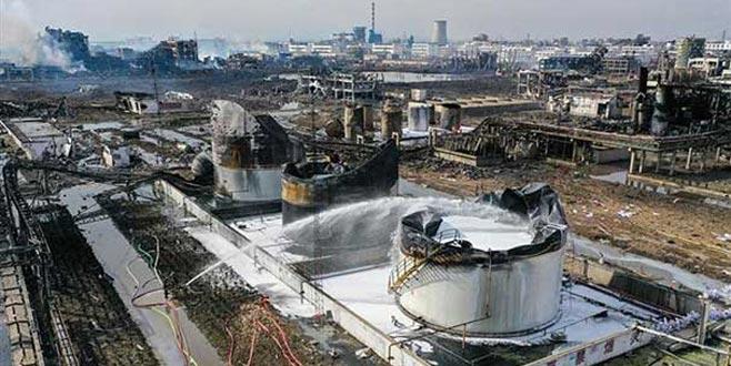 Kimya tesisindeki patlamada ölü sayısı 64'e çıktı