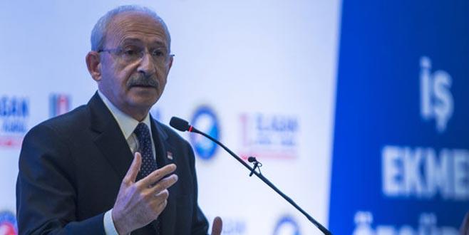Kılıçdaroğlu: 'İşçilerin sendikalaşması lazım'