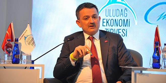 Bakan Pakdemirli: Türkiye tarımsal hasılada Avrupa'da ilk sırada