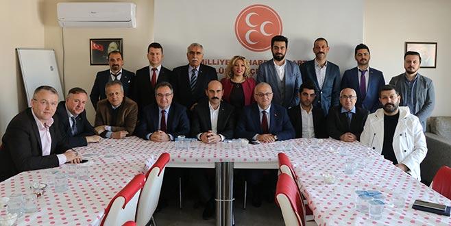 Şahin: Cumhur İttifakıNilüfer'de tarih yazacak